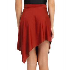 Adult Women Latin Ballet Scarf Skirt Leotard Tutu Wrap Dance Dress Asymmetric