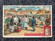 Chinese Street Merchants Peking China c1907 Card