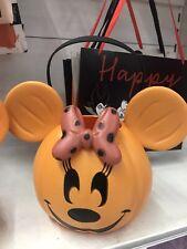 Asda Minnie Mouse Pumpkin Trick Or Treat Bucket New