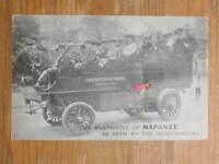 Napanee Ontario Tourist Bus Multi-View - IMAGES MISSING c1910 Postcard