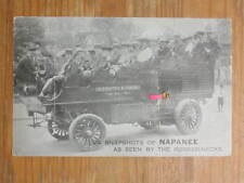 Napanee Ontario Tourist Bus Multi-View - IMAGES MISSING c1910 Postcard