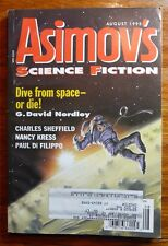 Asimov's Science Fiction Magazine Aug 1995 Vol 19 No 9