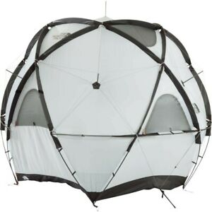 THE NORTH FACE Geodome 4 Tent with Footprint NV21800 Saffron Yellow EMS