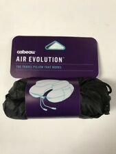 Cabeau Air Evolution Velour Cover Inflatable Airplane Travel Neck Pillow & Case