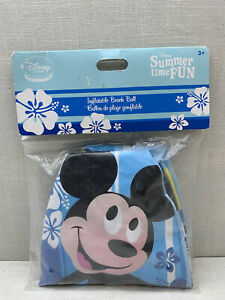 Disney Store Exclusive Mickey Mouse Inflatable Beach Ball  Pool Water Fun Toy