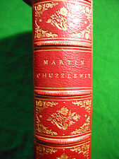 DICKENS, Charles. The Life and Adventures of Martin Chuzzlewit. - Fine binding.