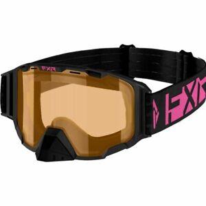 FXR Racing Maverick Women's E Pink/Plum Snowmobile Goggles