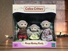 Calico Critters CC1489 Mango Monkey Family Doll Set NEW Animals