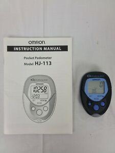 OMRON HJ-113 Digital Walking Style Pocket Pedometer