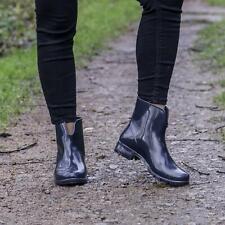 Mud Dogs PAOLA Women Ladies Womens Waterproof Wellington Walking Rain Boots Navy