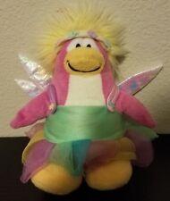 "Disney Club Penguin 7"" Pink White Fairy Princess Tutu Plush Stuffed Animal Toy"