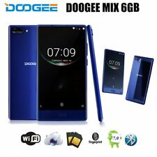 DOOGEE MIX 5.5'' 4G Android 7.0 6GB+64GB 2.5GHz 2SIM Octa Core Smartphone Blau