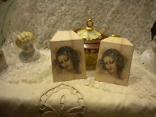 Vintage Woman Da Vinci  Tea Bag Envelopes (6)