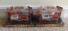 NEW 1/64 1999 CODE 3 FDNY SEAGRAVE PUMPER SET OF 2 E-75 & E-280 w/PATCHES 02449