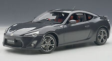 AUTOART 1/18 TOYOTA FRS 86 GT LIMITED ASIAN VERSION RHD DARK GREY METALLIC 78772