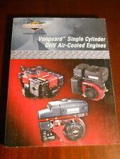 Briggs & Stratton 272147 Vanguard Single Cylinder OHV Air-Cooled Engines Manual