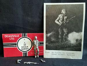 APOCALYPSE END-GAME! Deauville #D66 1/35 US FORCES VIETNAM WALKING Metal Figure!