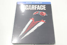 New - Scarface - Steelbook Bluray + Digital HD