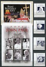 Papua Neuguinea 2010 Papst Benedikt Mutter Teresa Pope 1600-03 Block 121-122 MNH
