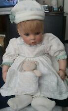"GOTZ  Hildegard Gunzel Doll for Waltershausen Chipie Baby"" 22 inch Vinyl/Cloth"