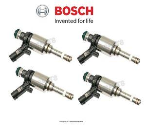 For Audi A4 Quattro A5 Quattro allroad Q5 Set of Four Fuel Injectors OEM Bosch