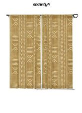 Society6 mustard cloth - Blackout Curtains By Little Arrow Design Co. $129.99
