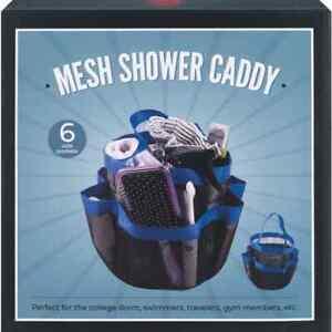 Mesh Shower Caddy 6 Side Pocket
