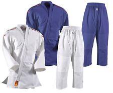 Judoanzug Yamanashi mit Schulterstreifen, in blau u. weiß. DAN RHO Judo, SV, BJJ