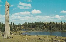 "*Wyoming Postcard-""The HourGlass Lake"" /Snowy Range/ (U1-589)"