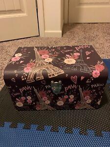 Paris Je T'aimea Rêveur Chest Trunk Box Decorative Brand New