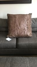Hudson Park Collection Brown Black Hunting Decor Floor Giant Big Pillow 28 X 28