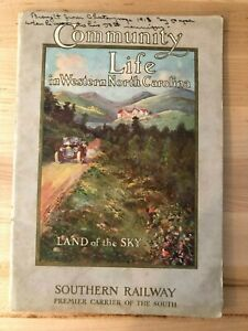 1913 Southern Railway Booklet, Life in Western North Carolina