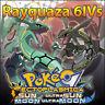 Rayquaza 6IV ☀️ Shiny or not 🌙 Battle Ready 6IVs Pokemon Sun Moon Ultra SM USUM