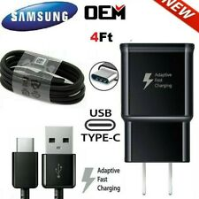 Original SAMSUNG Galaxy Note10 S8 S9 S10 E Fast Wall Charger USB-C Type-C Cable