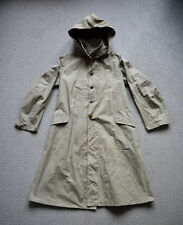 Vintage 1940s Japanese Army Named Hooded Canvas Smock Coat