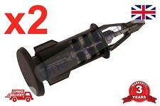2x RENAULT CLIO MK3 PARAURTI PORTELLONE Titolare Staffa Presa Clip 8200401454