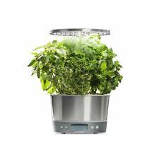 AeroGarden Harvest Elite 360 6-Pod w/ Gourmet Herb Seed Pod Kit, Stainless Steel