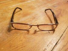 Oleg Cassini Eyeglasses Frames Half Rim gold brown
