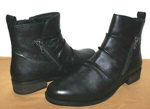 ❤️EARTH Origins Alana Skellig Supple Leather Comfort Zip Bootie 11 M NEW! L@@K!f
