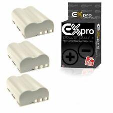 Ex-Pro EN-EL3 2200mAh Battery x3 for Nikon D700 D300 D200 D100 D80 D70s D70 D50