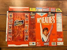 1998 MARY LOU RETTON WHEATIES CEREAL BOX FACTORY FLAT UNUSED NEVER FOLDED