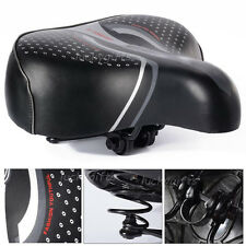 Unisex Big Bum Bike Bicycle Gel Comfort Men Ladies Cycling Sprung Saddle Seat