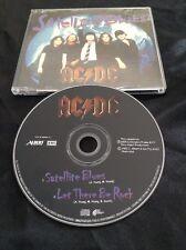 AC/DC SATELLITE BLUES CD  - PROMO SAMPLE  - ALBERT PRODUCTIONS AUSTRALIA EMI OOP