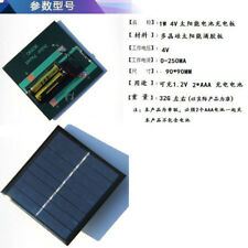 1W 4V Solar Panel For Aaa Rechargeable Battery Charger