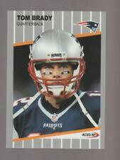 2000 Acer Tom Brady rookie REPRINT, New England Patriots