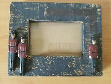 Wooden Rustic Toy Soldier Picture Frame