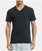 Calvin Klein Men's Undershirts V-Neck Slim Cotton Classics 2-Pk Size Medium