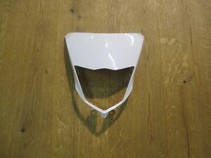 Original YAMAHA WR 125 R Enduro Lampenverkleidung Scheinwerferverkleidung weiß
