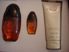 Calvin Klein Obsession Women 3 Pc Set Eau De Parfum 3.4 oz & Body Lotion 6.7 oz
