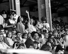 Fans waiting for The Beatles Concert Comiskey Park August 1965  B+W 8x10 J